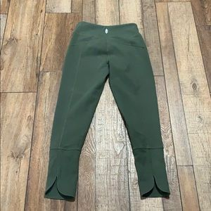 Free people cotton crop leggings size small